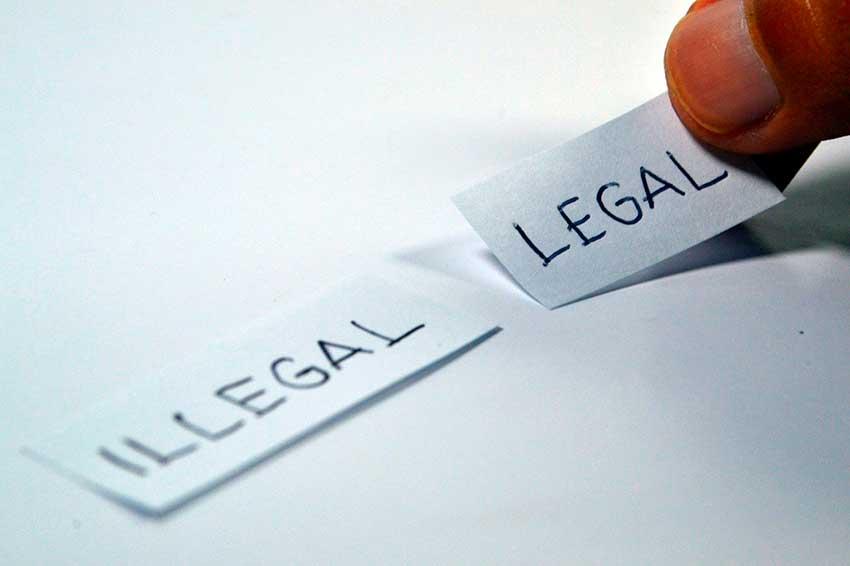 legalidad de las criptomonedas
